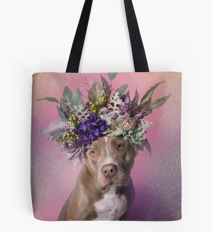 Flower Power, Pringles Tote Bag