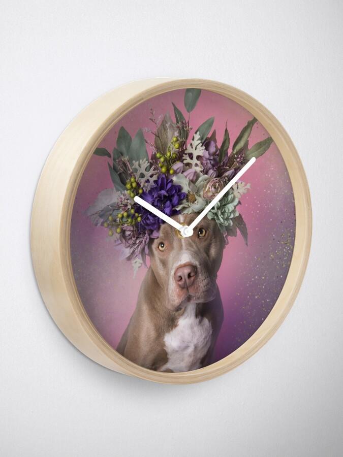 Alternate view of Flower Power, Pringles Clock