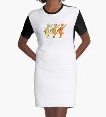 The Sun Dance Graphic T-Shirt Dress