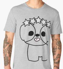 Shih Tzu Puppy with Star Crown Men's Premium T-Shirt