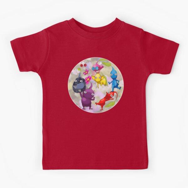 Pikmin Fanart Kids T-Shirt