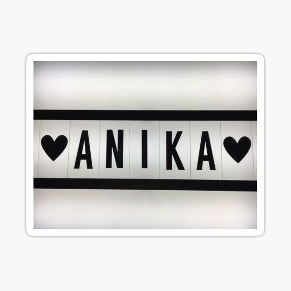 Anika  Sticker
