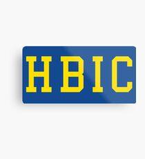 HBIC Metal Print