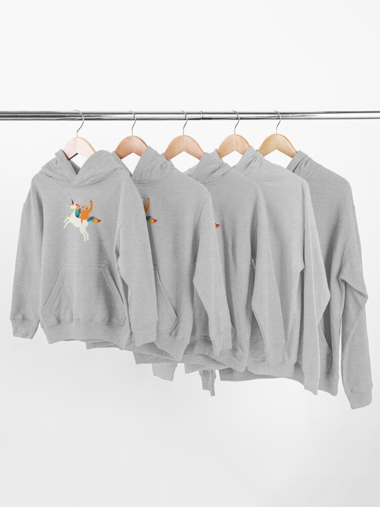 Alternate view of Magic Time Kids Pullover Hoodie