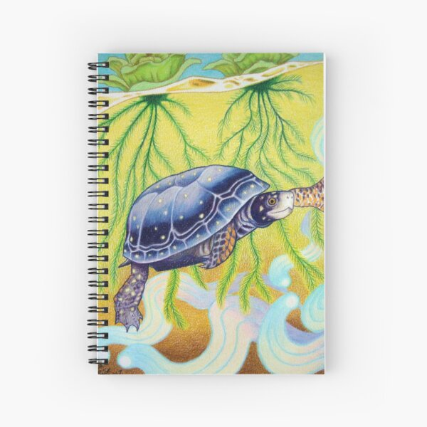 Spotted Turtle Spiral Notebook