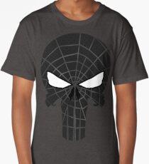 Black Sp1derPun1shed Long T-Shirt