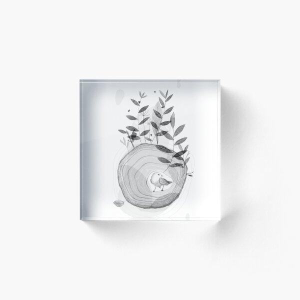 Baum des Lebens 1 Acrylblock