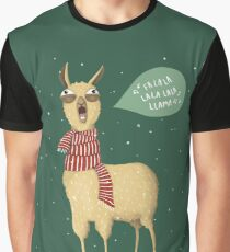 Holiday Llama Graphic T-Shirt