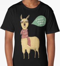 Holiday Llama Long T-Shirt