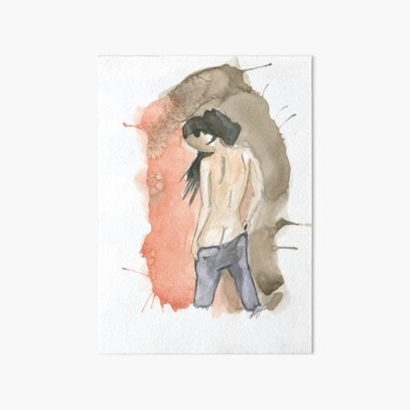 Anonymous nude I Art Board Print
