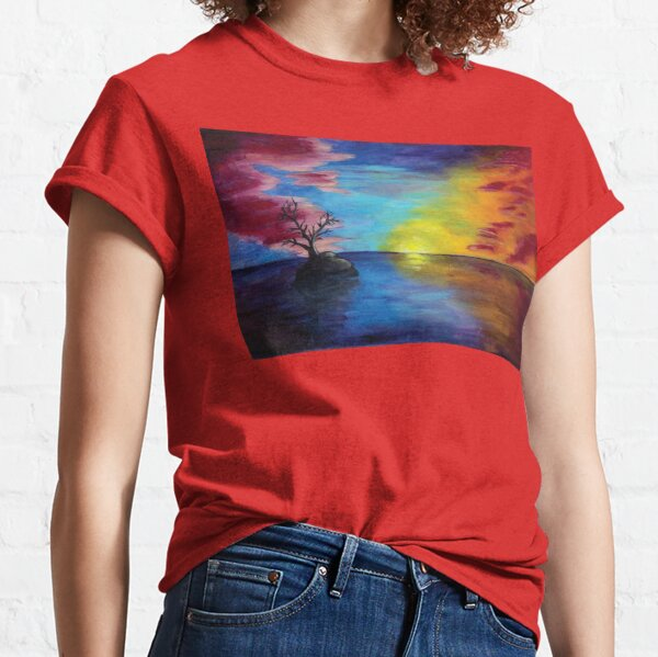 Solitude Sunset Classic T-Shirt