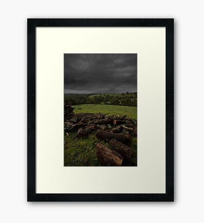 Dislocation Framed Print