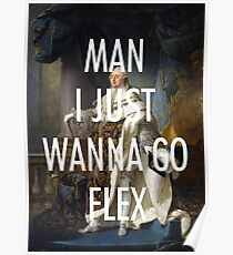 GO FLEX / POST MALONE Poster