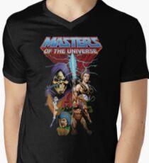 Camiseta para hombre de cuello en v Maestros del Universo