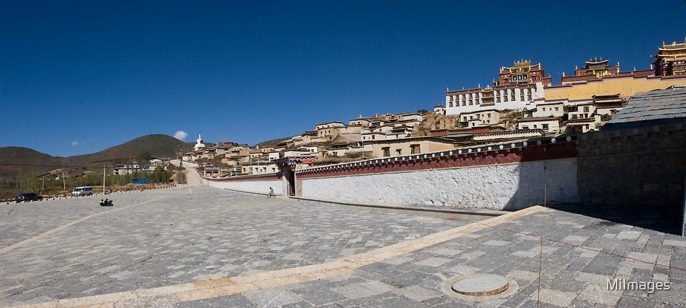 Songzanlin Monastery Shangri La Yunan Province China by MiImages