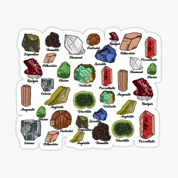 Minerals Sticker