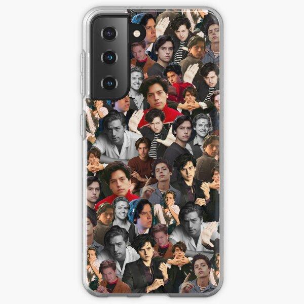 Cole Sprouse Collage Funda blanda para Samsung Galaxy