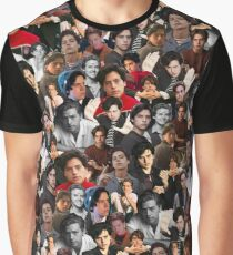 Cole Sprouse Collage Graphic T-Shirt