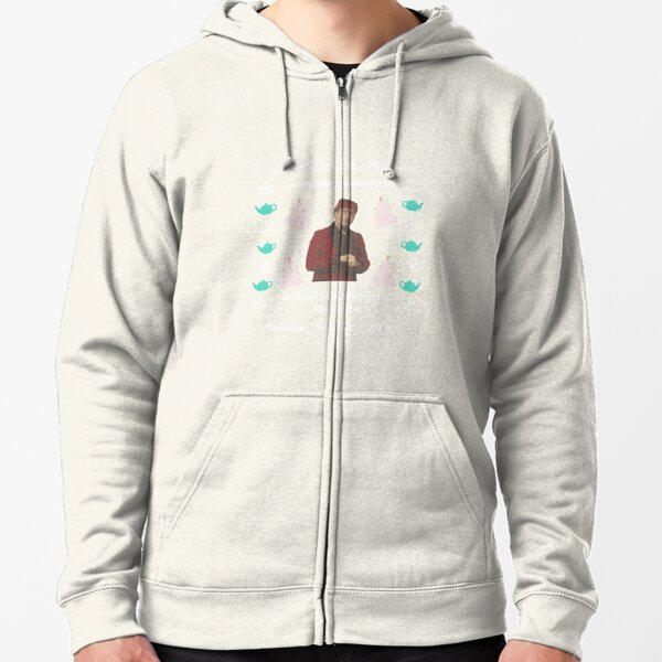 The Office Ugly Christmas Sweater Zipped Hoodie