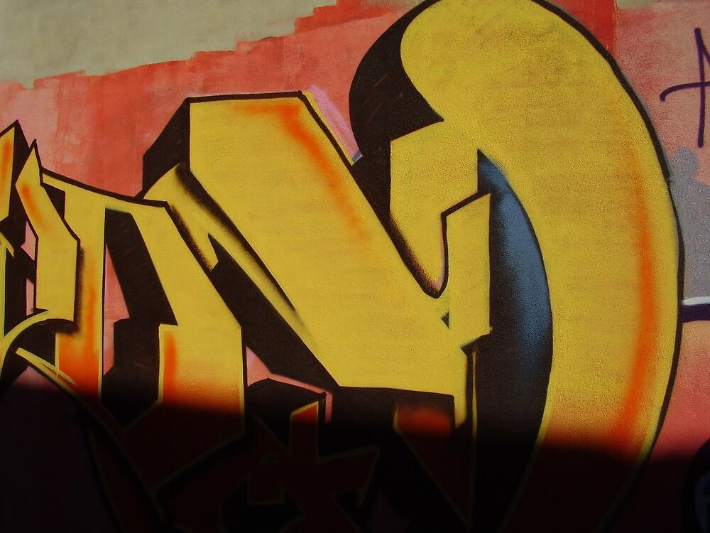 Graffitti Shadow by satsuma