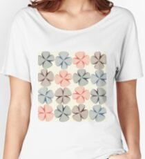 Abstract flowers Women's Relaxed Fit T-Shirt