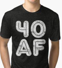 40 AF Tri-blend T-Shirt