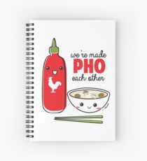 We're Made PHO Each Other Spiral Notebook