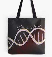 Life is Twisted Tote Bag