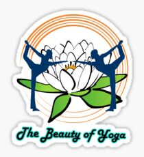 The Beauty of Yoga  Sticker