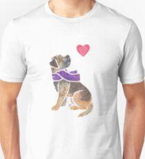 Watercolour Border Terrier Unisex T-Shirt
