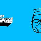 I'm Chris (black lines) by tvcream