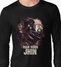 League of Legends HIGH NOON JHIN Long Sleeve T-Shirt