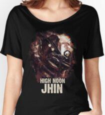League of Legends HIGH NOON JHIN Women's Relaxed Fit T-Shirt