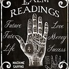 Vintage Palmistry Sign by mindydidit