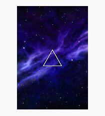Blue Galaxy Photographic Print