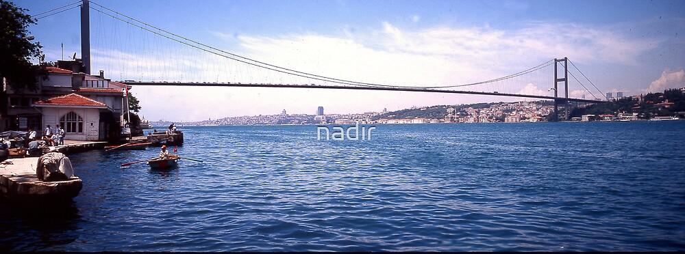 Istanbul Bridge by nadir