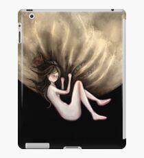 Sail away... to the moon iPad Case/Skin