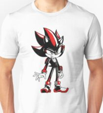 Sonic CD inspired Shadow Unisex T-Shirt