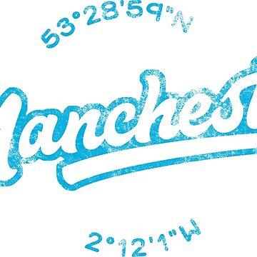 Manchester Eastlands Coordinates  by gamefacegear