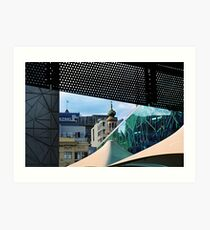 Forum Theatre from Federation Square Art Print