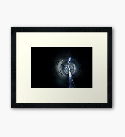 Deeper Underground Framed Print