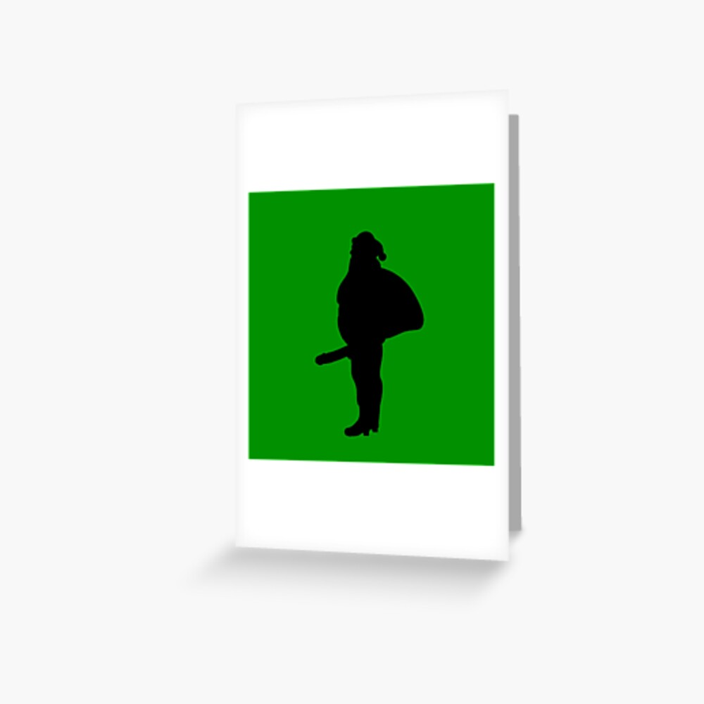 St. Dick Greeting Card