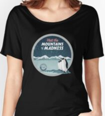 Visit the Mountains of Madness - Round Women's Relaxed Fit T-Shirt