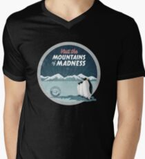 Visit the Mountains of Madness - Round Men's V-Neck T-Shirt