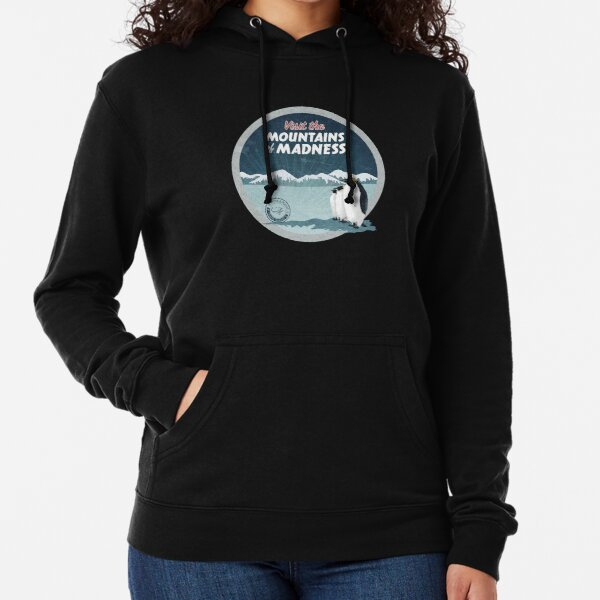Visit the Mountains of Madness - Round Lightweight Hoodie