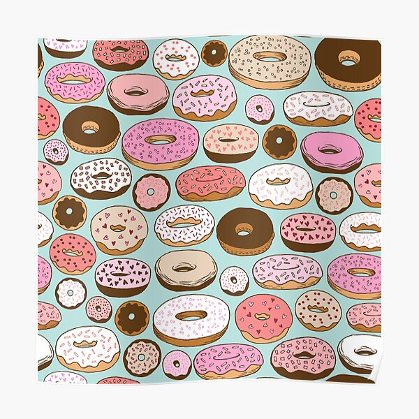 DONUTS FOREVER Poster