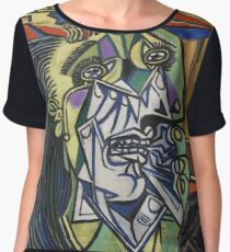 The Weeping Woman-Pablo Picasso Chiffon Top
