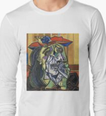 The Weeping Woman-Pablo Picasso Long Sleeve T-Shirt