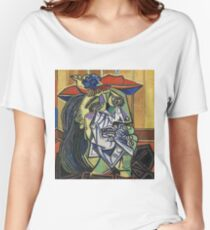 The Weeping Woman-Pablo Picasso Women's Relaxed Fit T-Shirt