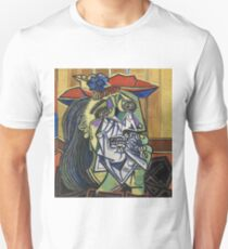 The Weeping Woman-Pablo Picasso Unisex T-Shirt